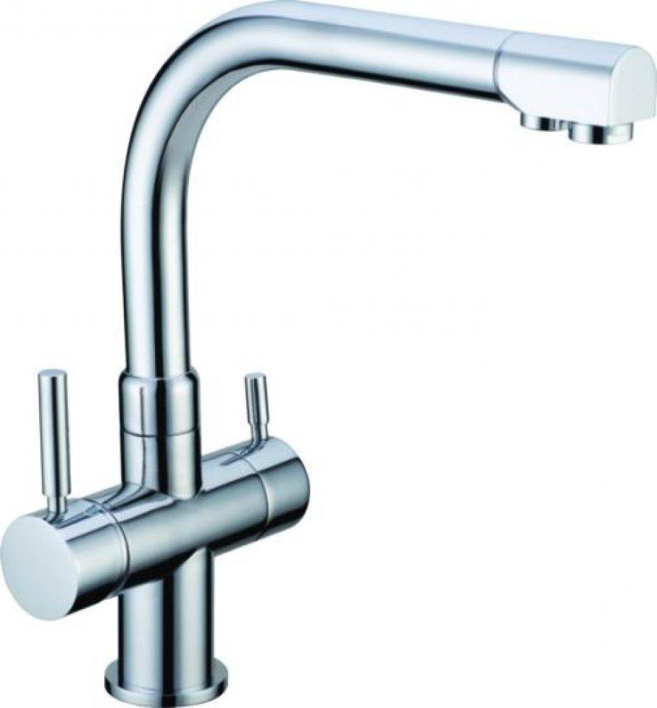 Häufig 3-Wege-Wasserhahn DANUBIO, Chrom - Vitalbrunnen WF57